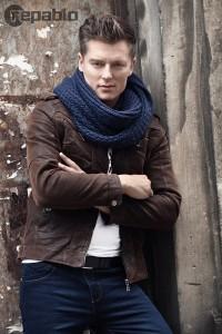 Rafał Brzozowski w sesji dla producenta odzieży Repablo
