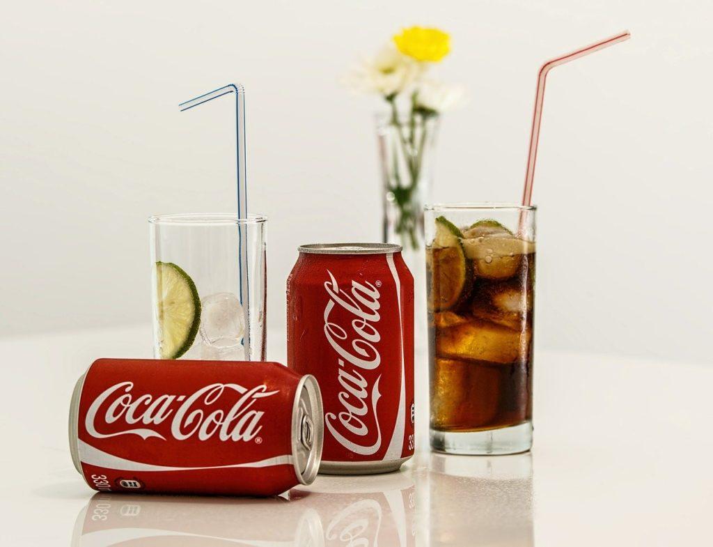 puszki Coca-Cola