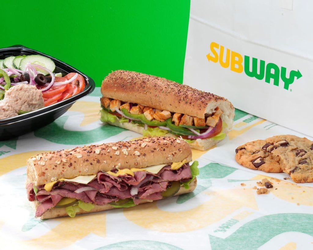 kanapki Subway