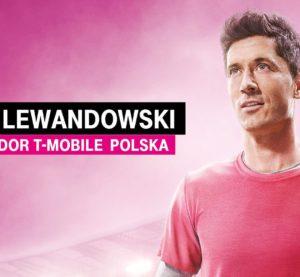 Robert Lewandowski T-Mobile