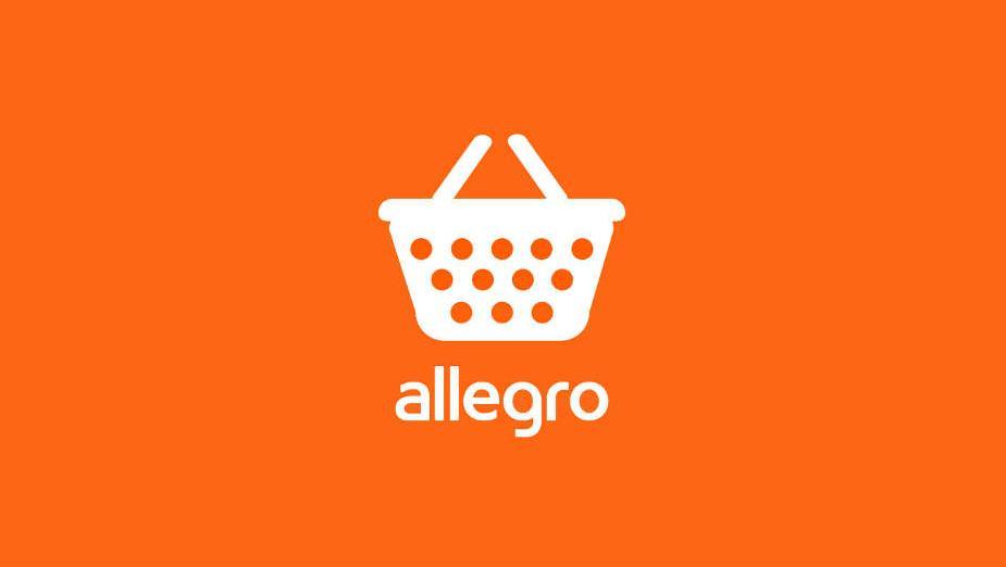 allegro logo pomarańczowe