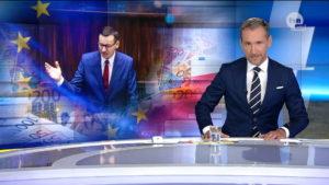 """Piotr Kraśko w programie """"Fakty"""" TVN"""