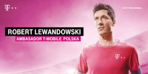 Robert Lewandowski T-Mobile