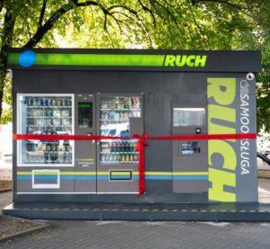Ruch kiosk samoobsługowy