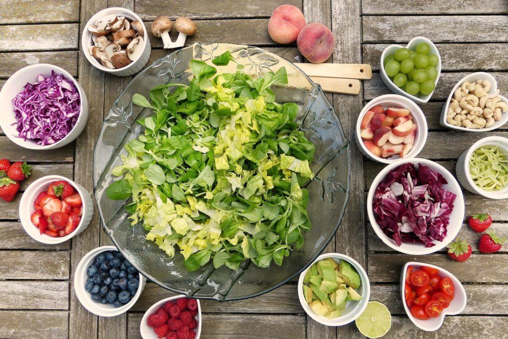 warzywa sałatki